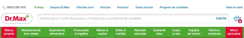 Farmacia online Dr. Max