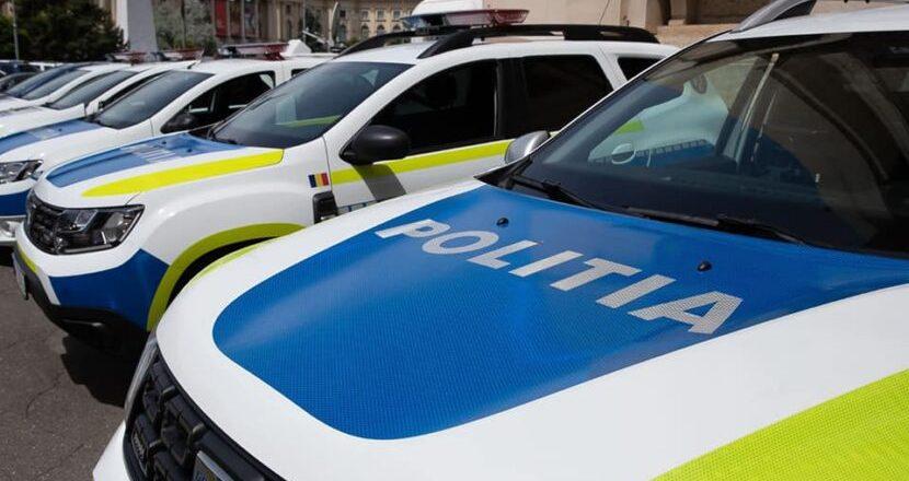 Flota auto a Poliției Române: Nouă și impresionantă dar mașini de poliție fără asigurare CASCO